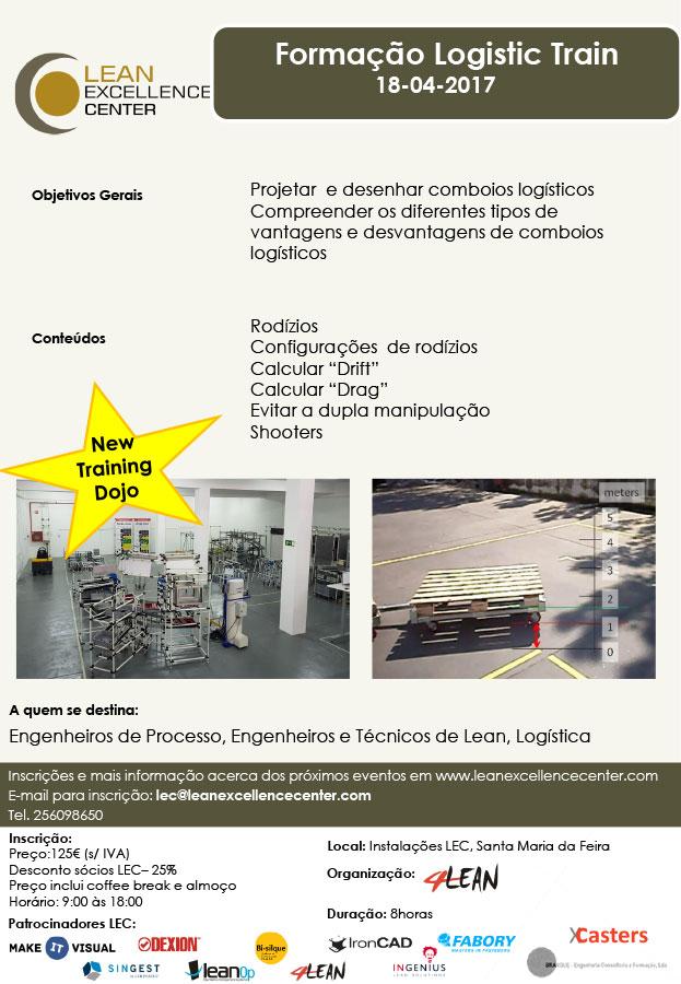 Formação Logistic Train - 18 Abril 2018