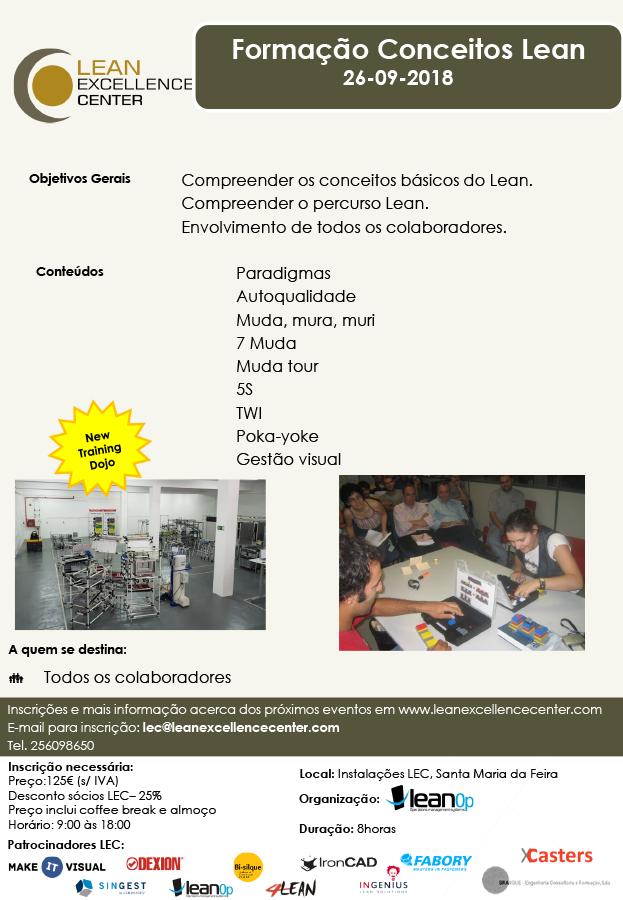 Training Conceitos Lean - 26 September 2018
