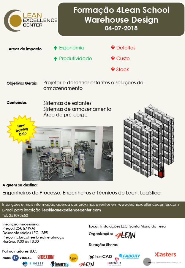 Training 4Lean School Warehouse Design - 4 July 2018