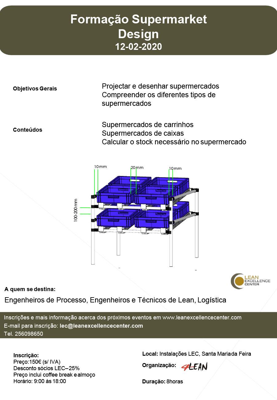 Training Supermarket Design - 12 February 2020